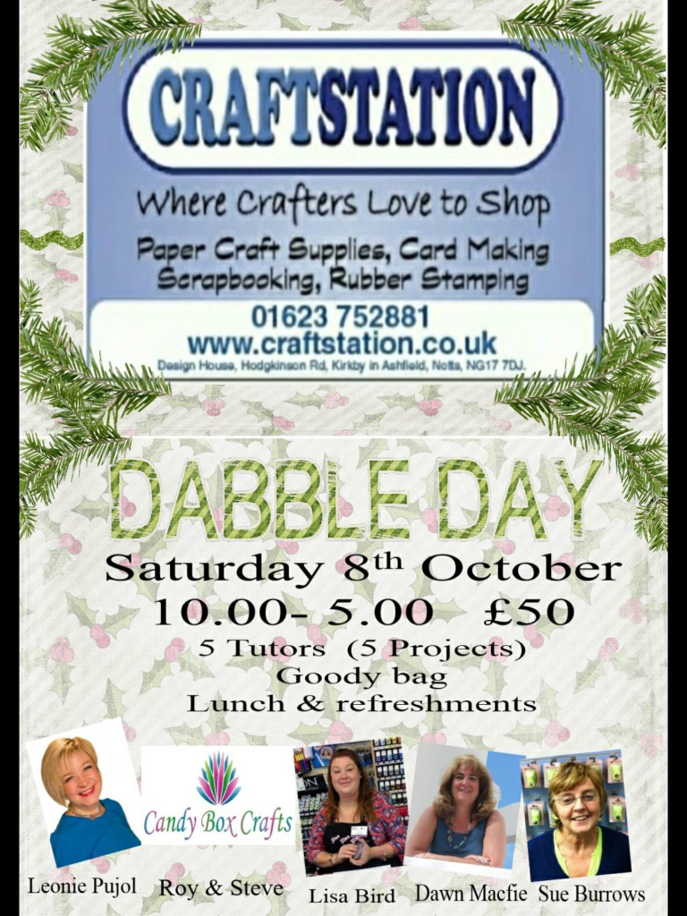 CraftStation Dabble Day