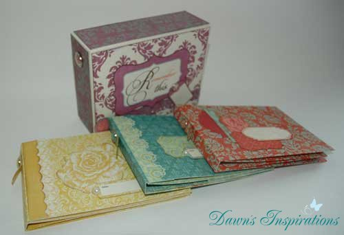3 Mini Albums in a Box Paid Online Workshop