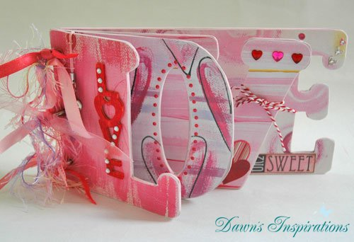 How to make a Personalised Chipboard Word Album