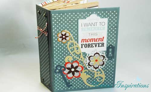 Interactive 3 Page Scrapbook Album