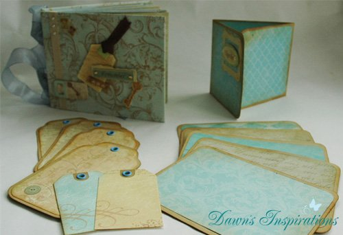 Simple Envelope Mini Scrapbook Album Online Workshop