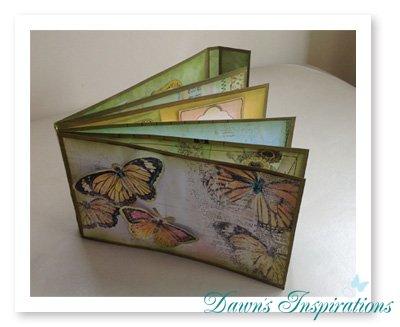 Style 6 File Folder Mini Scrapbook Album