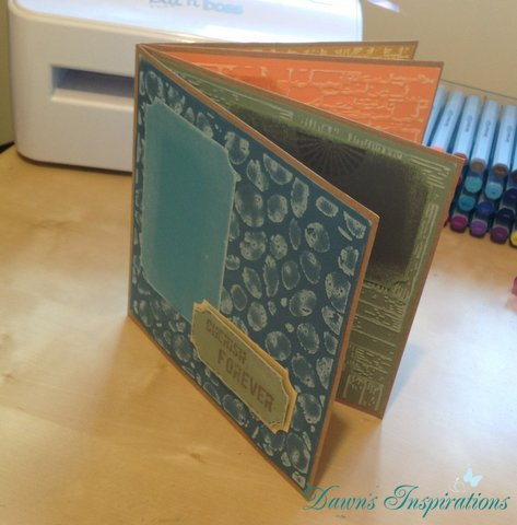 Super Quick 8×8 Mini Scrapbook