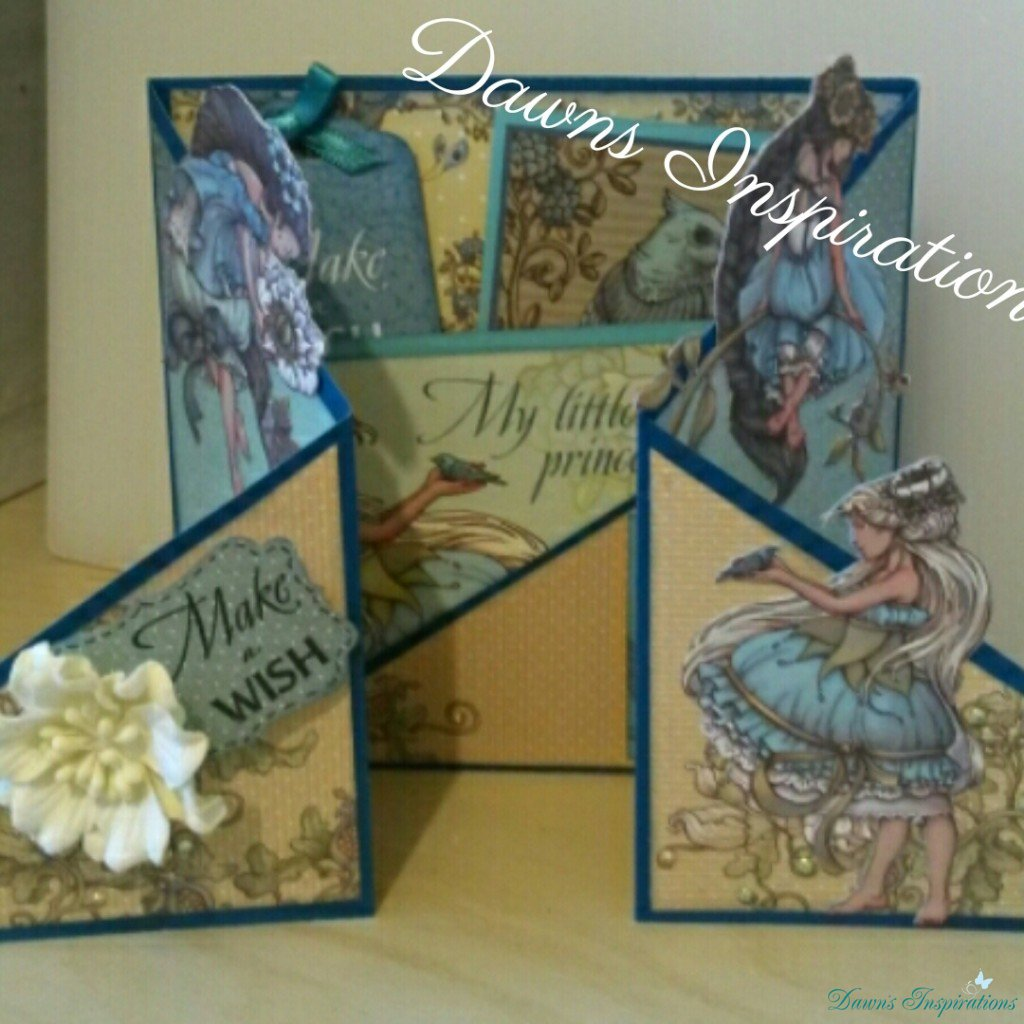 Double Gatefold Card – ScrapBerry's Fairy Tale Collection