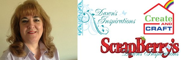 Dawn Macfie on Create & Craft with Scrapberrys
