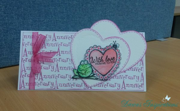 Samples from Stamping with Dawn on Hochanda TV 3rd September