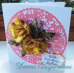 How to create a quick and easy Mothers Day Card