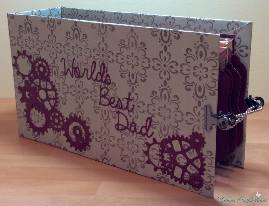 Father's Day Envelope Mini Album