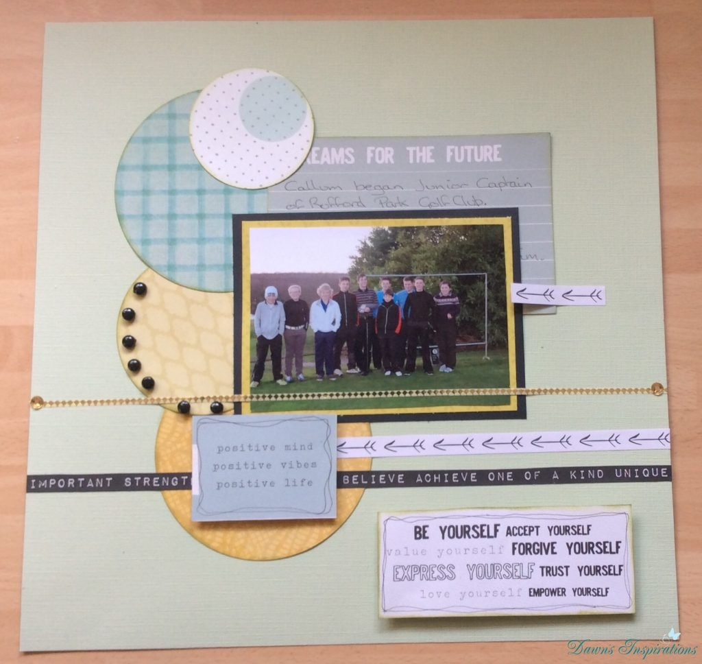 Scrapbook Layouts – May's Club Kit
