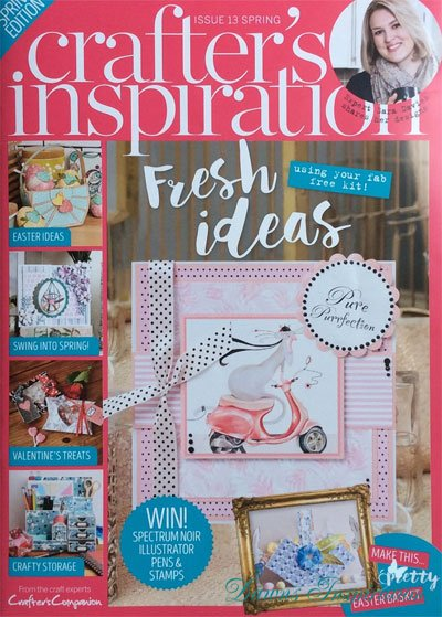 Easter Bounty in Crafters Inspiration Magazine