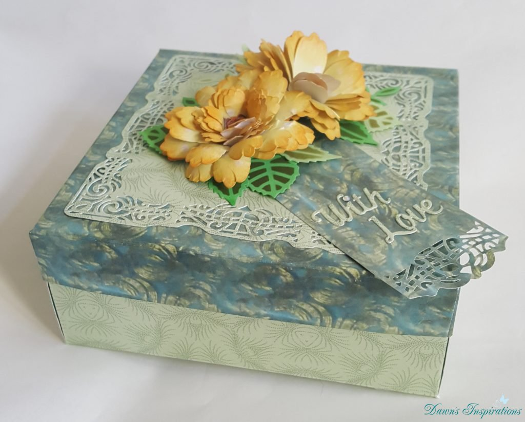 Quilling Flower Box