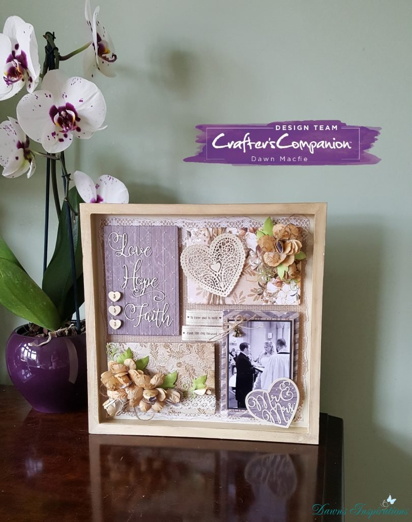 Memory Box Frame – Sara's Rustic Wedding Collection