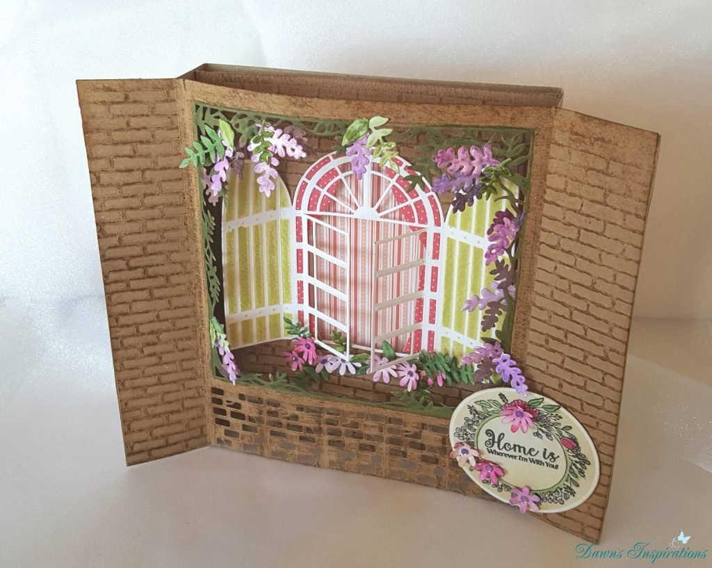 Build a Scene – Wisteria Window- Video Tutorial